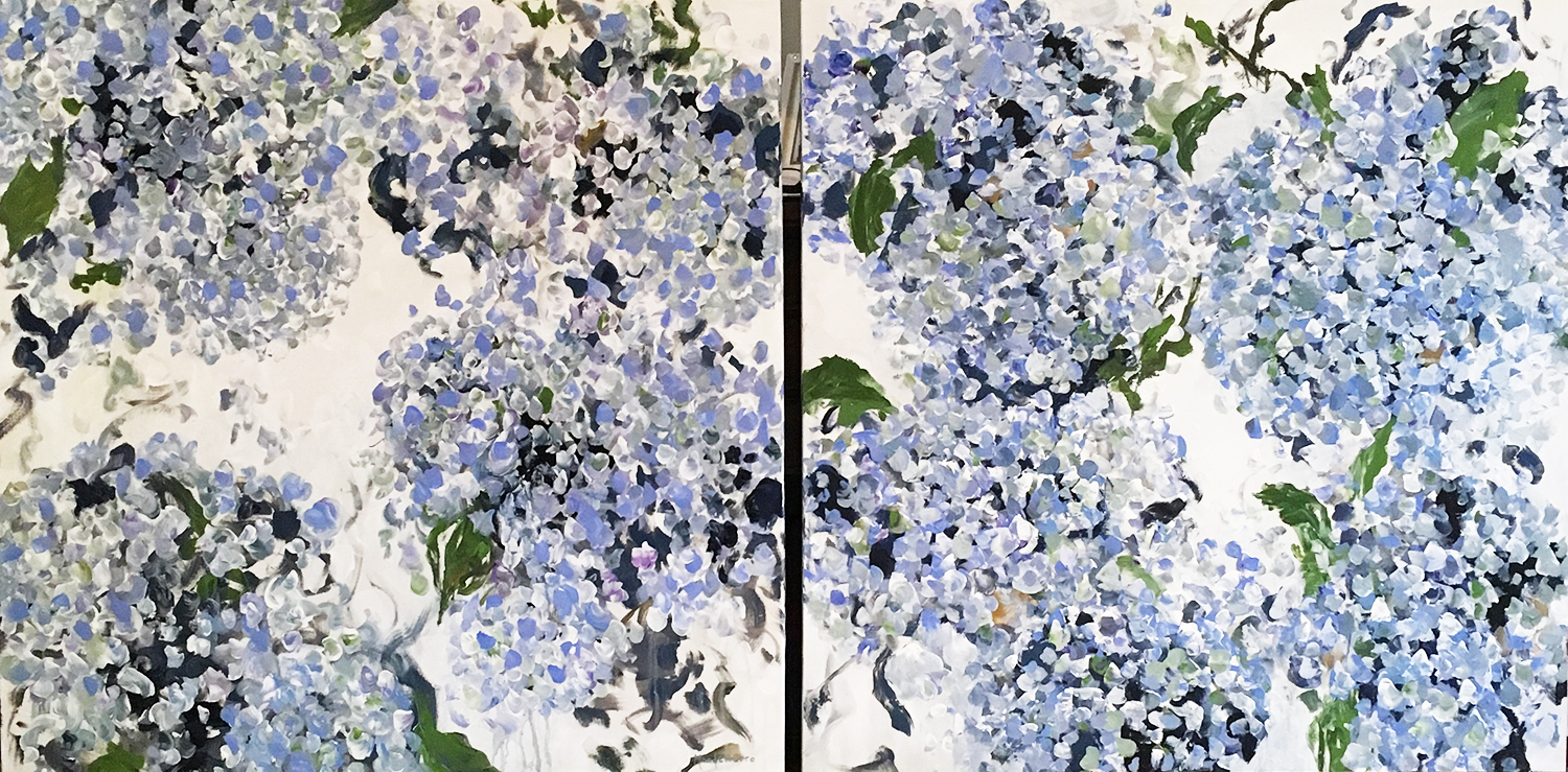 "Diptych Commission (Both 40"" x 40"")"