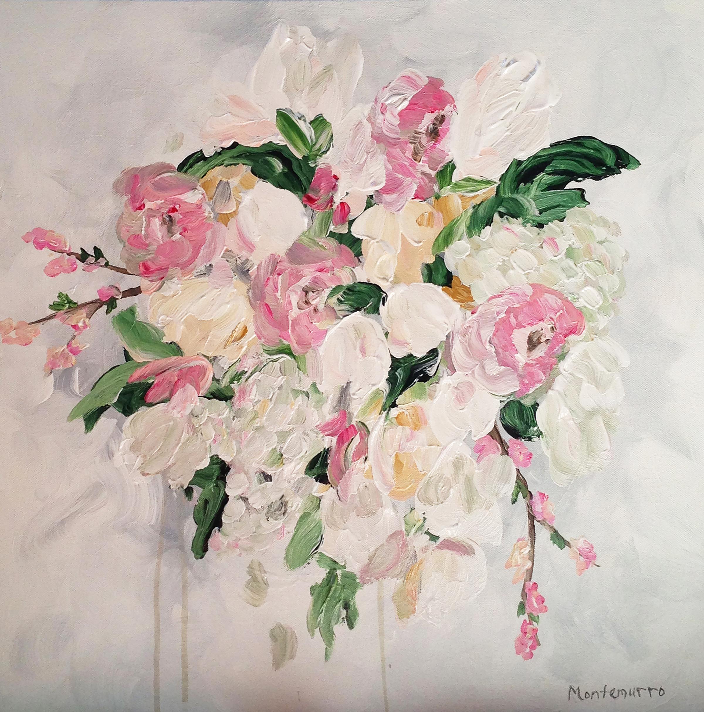 """Delicate Bouquet (16"""" x 16"""")"""