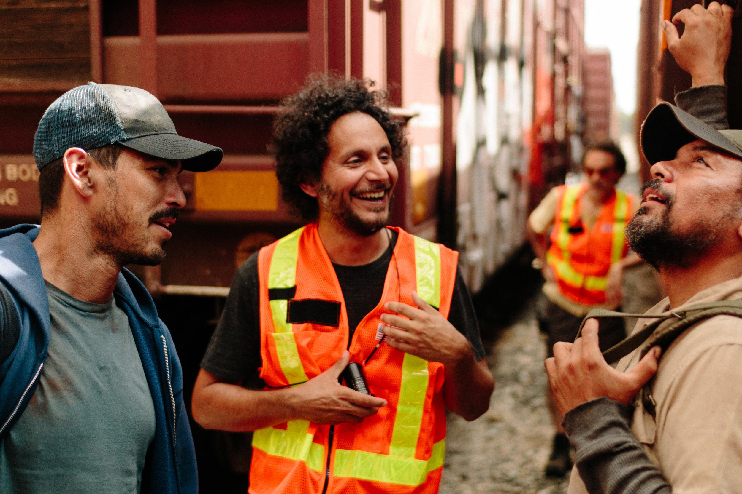 Raúl, Miguel, and Felix.