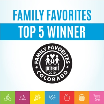 Named Family Favorite by     Colorado Parent     magazine Voted TOP 5 Family or Child Photographer