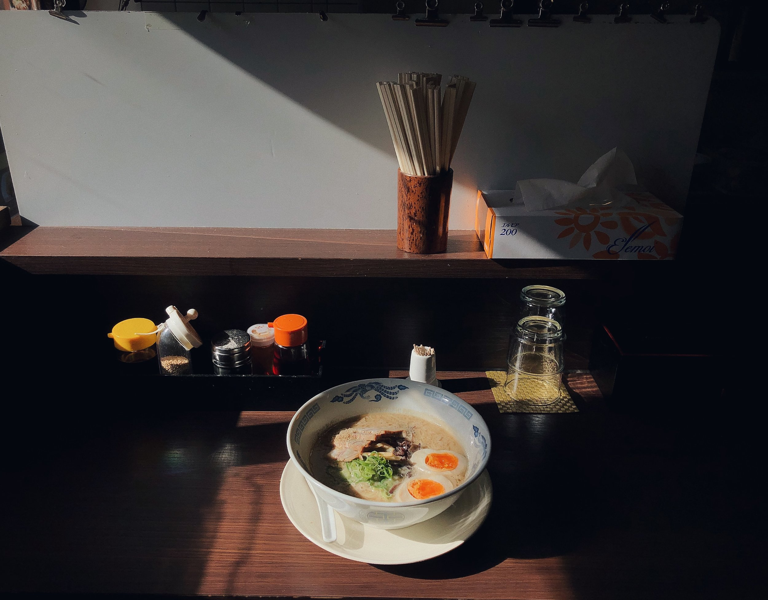 The perfect ramen, Tokyo, 2017. Shot on iPhone X