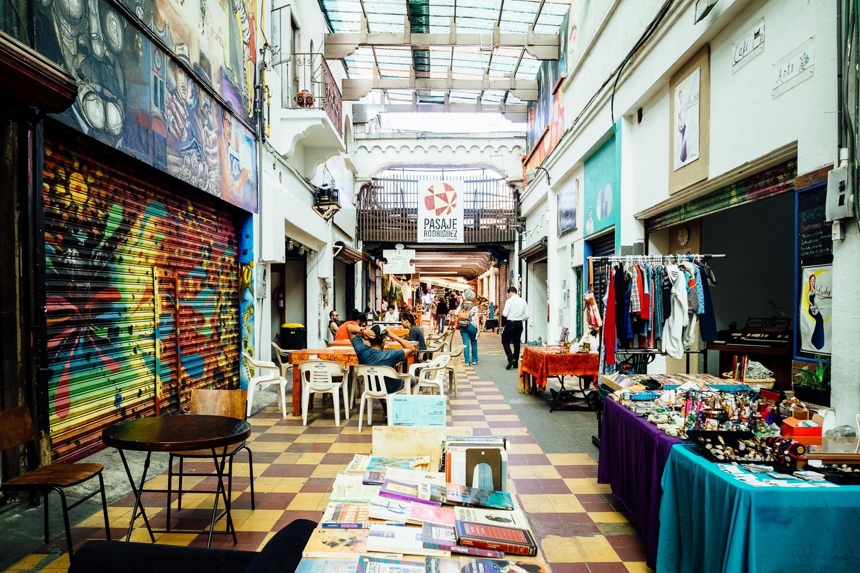 Tijuana-Mexico-Downtown-Alleyway-Local-Street