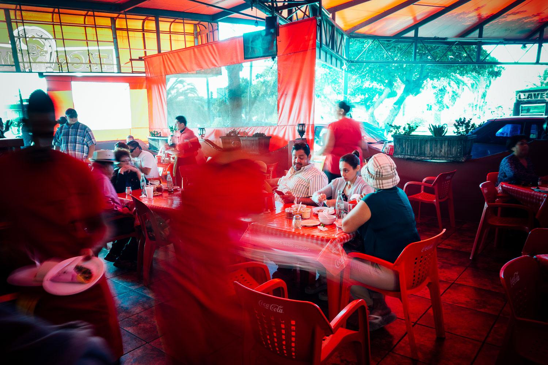 Tijuana-Mexico-Food-Taco-Stand-LongExposure-Red-Street