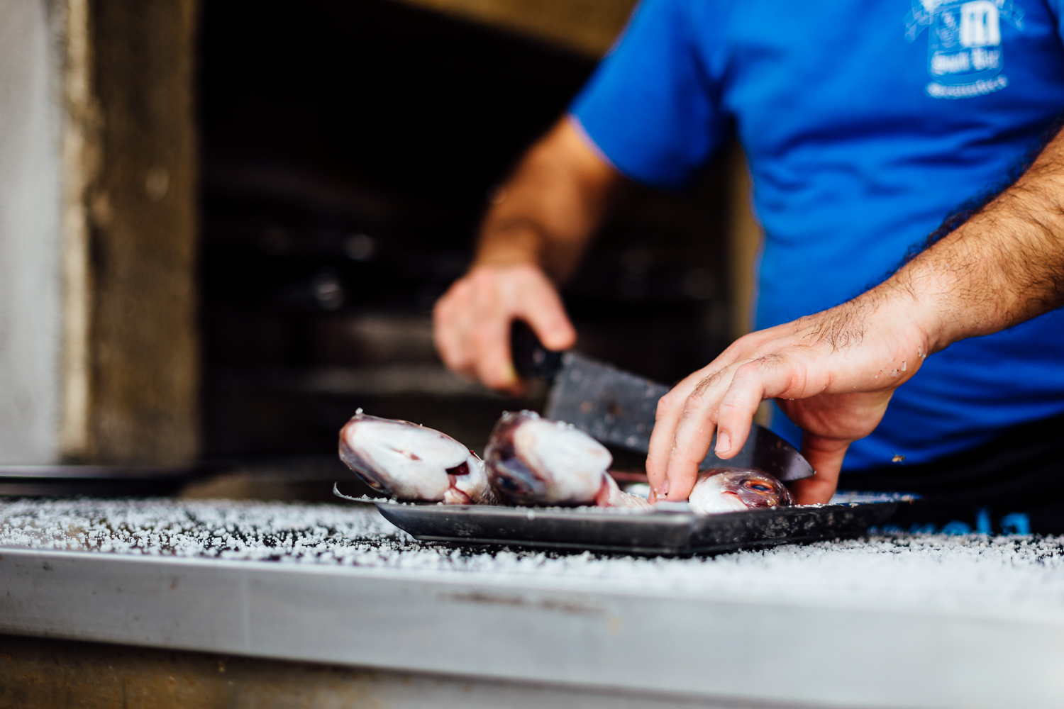 Cooking-Fish-Artesanal-Couisine-Slicing-Portugal-Travel-Photography