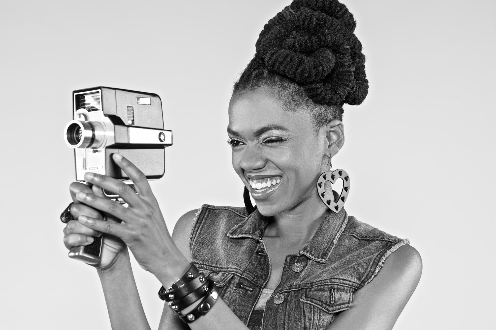 Magazine photography | 8mm Camera Girl