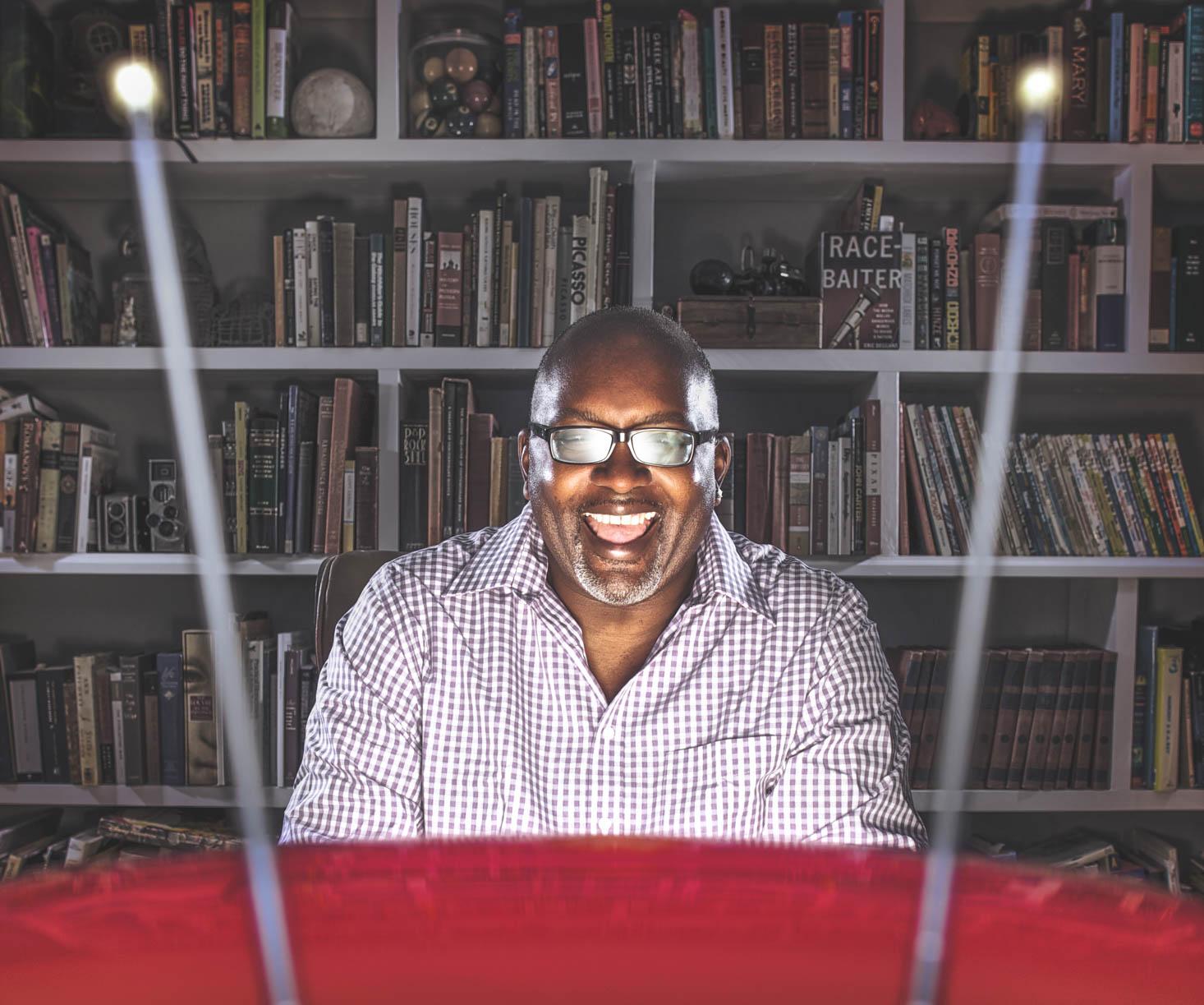 Magazine photography | NPR TV Critic Eric Deggans