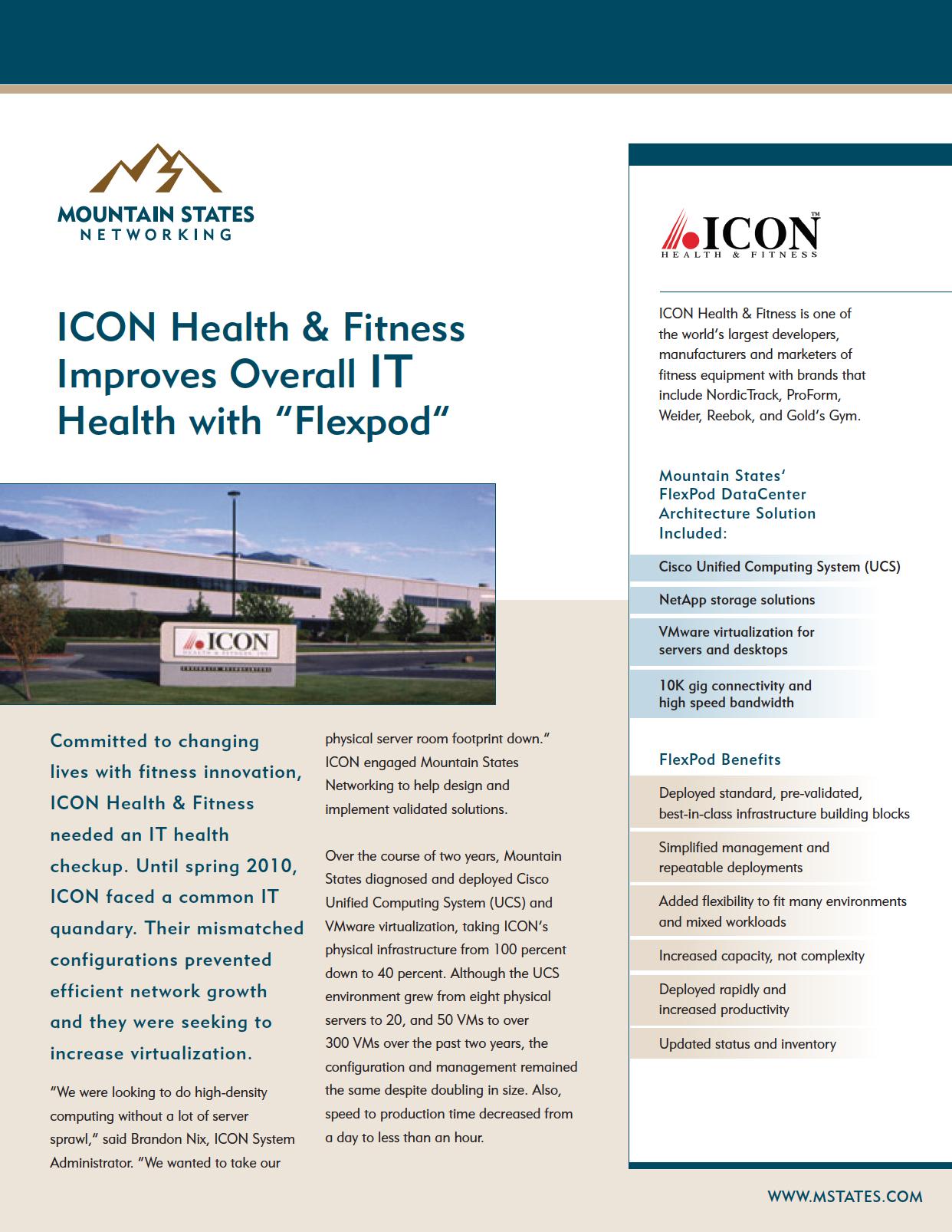 ICON Case Study