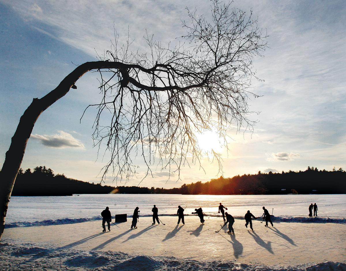 Once a common sight, outdoor hockey no longer a local rite of passage - In pond hockey, there are no boards, no coaches, no sound system, and — perhaps most importantly for many hockey players who cherish memories of staying out on the ice until sunset — no parents.The claps and bangs of indoor play are replaced with whispering carving noises from skates and whistling wind.