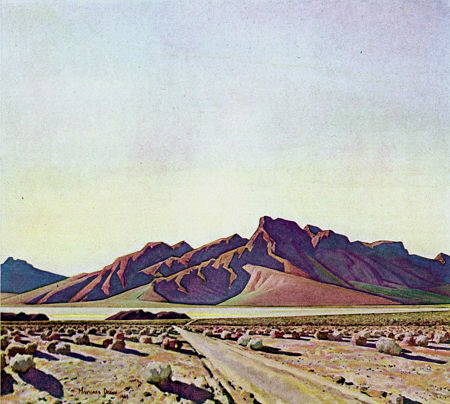 Maynard Dixon  Desert Southwest  Private Collection