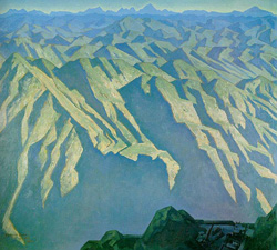 Maynard Dixon  Men and Mountains  Private Collection