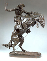 Frederic Remington  The Bronco Buster  Private Collection
