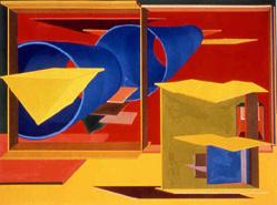 Al Held  Pachinko  Private Collection