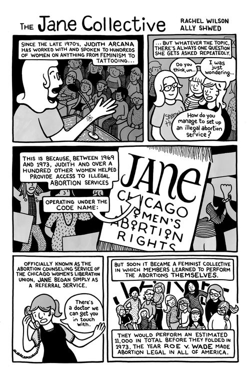 "Excerpt from ""The Jane Collective"" by Rachel Wilson and Ally Shwed"