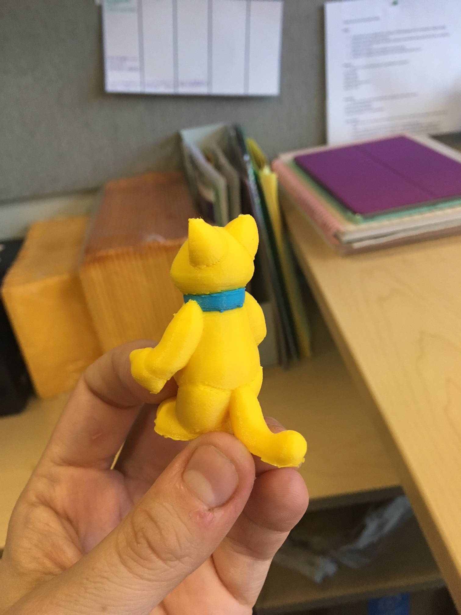 Promotional prototypes for Prince George's County Memorial Library System. Created in Tinkercad and Sculptris, printed on Ultimaker 3.