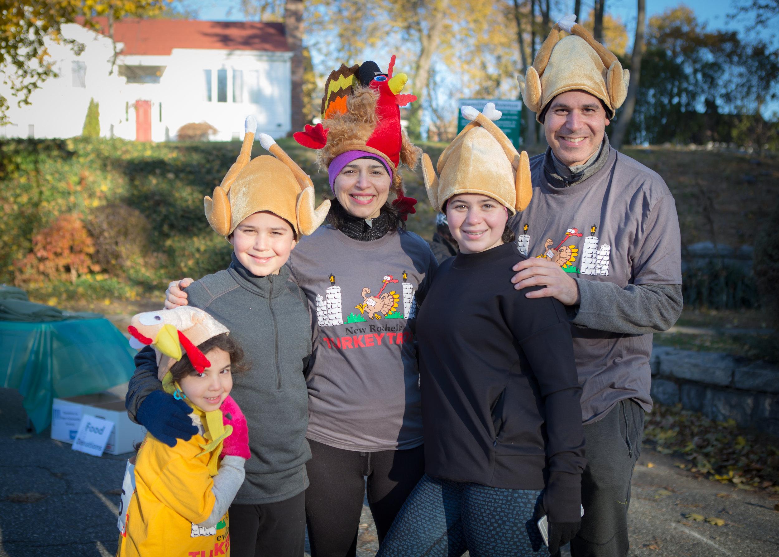 a family of turkeys :)