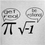 Get Real Funny Math Joke Shirt
