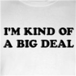 I'm kind of a big deal cute and funny t-shirts and gifts