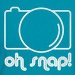 Camera Oh Snap cute and humor shirts