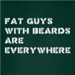 Fat Guys With Beards Are Everywhere