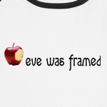 eve was framed feminist progressivt t-shirts