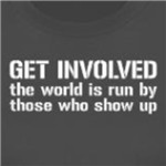 Get Involved progressive and activist gifts and shirts