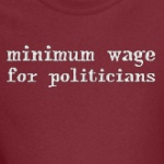 minimum wage for politicians progressive populist shirts