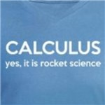 calculus yes it is rocket science funny math humor shirts and gift ideas