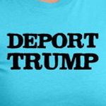 Deport Trump Liberal politics shirts and gift ideas