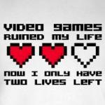 video games ruined my life t-shirts and other gifts