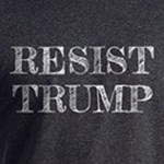 Resist Trump liberal and progressive anti-trump t-shirts