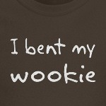 I bent my wookie simpsons joke t-shirts and gifts ideas