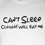 Can't Sleep Clowns will eat me funny bart Simpsons humor
