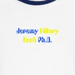 Jeremy Hillary boob ph.d. funny and cute Beatles t-shirts