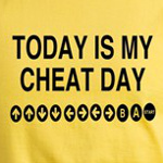 today is my cheat day funny video game code t-shirts and gift ideas