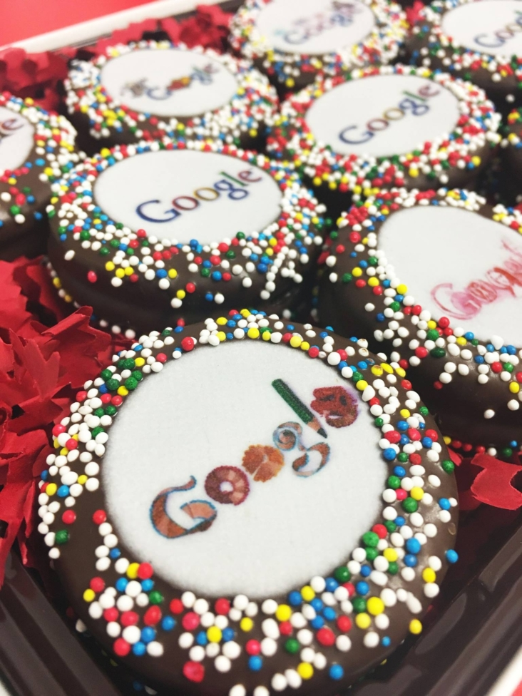 """Google"" Branded Oreos"