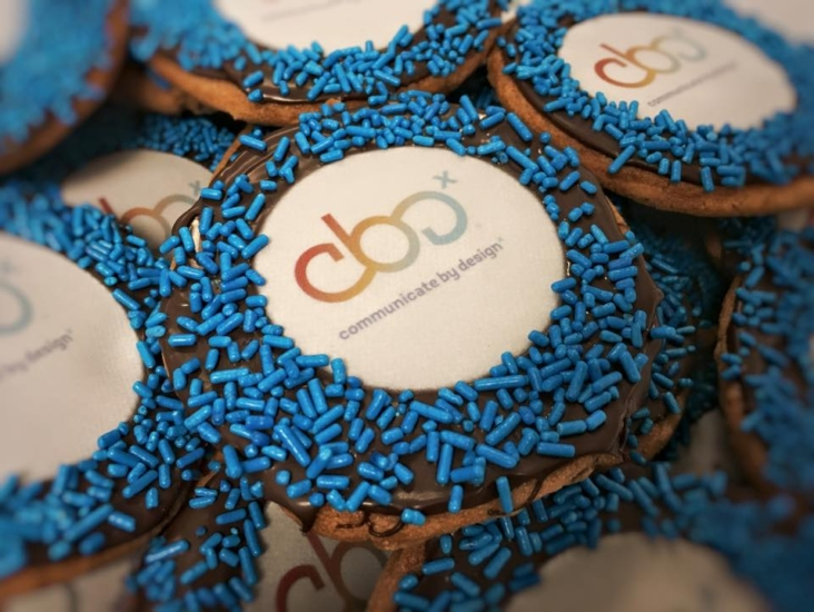 """""""Communicate By Design"""" Cookies"""