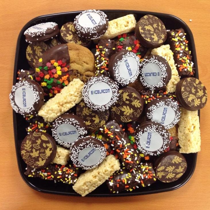 """""""Excelacom"""" Autumn Dessert Platter"""