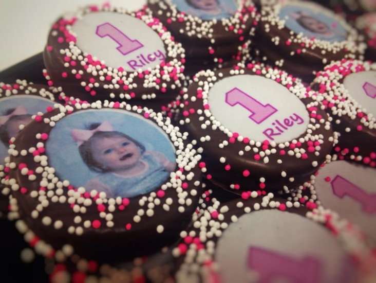 """First Birthday"" Oreos"