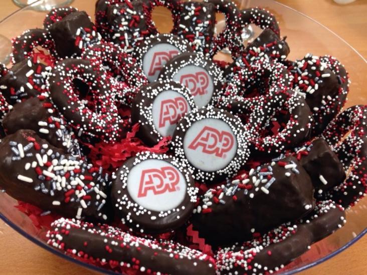 """ADP"" Corporate Dessert Platter"