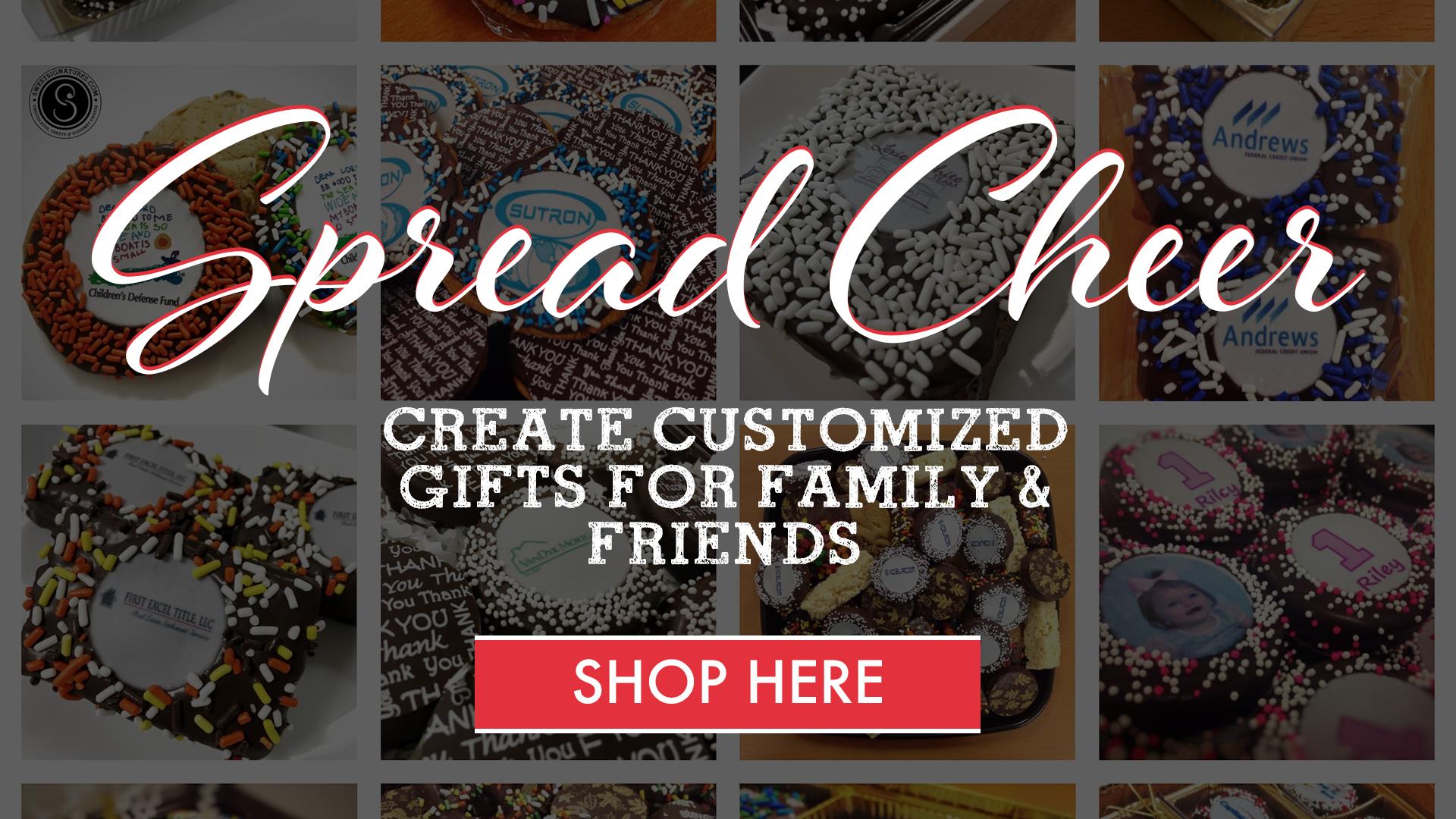 Shop Customized Treats