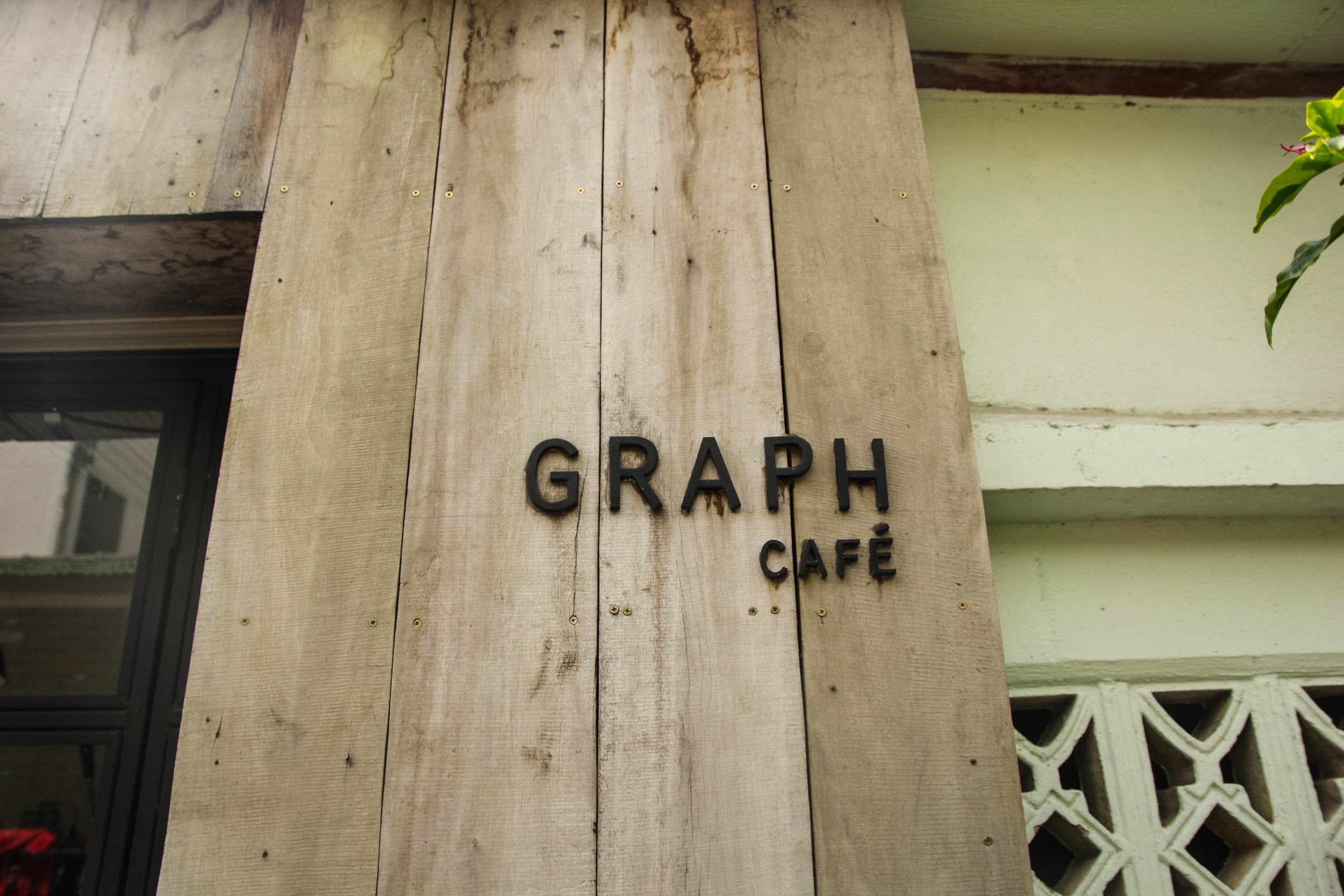 Chiang Mai Thailand Graph Cafe coffee