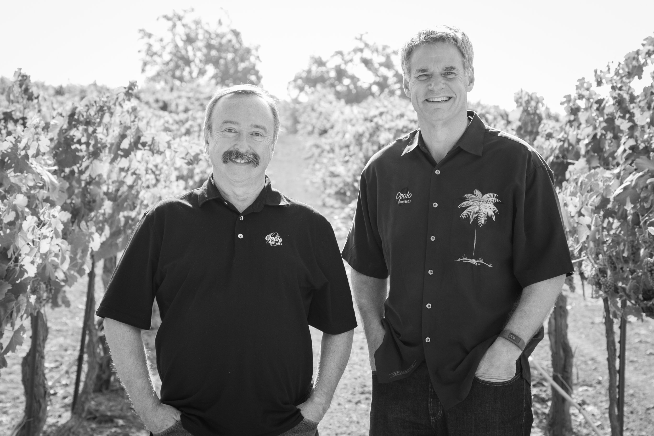 Rick Quinn & Dave Nichols    Proprietors   Co-owners of Opolo Vineyards, Rick and Dave's interest in distilling peaked as an extension from years of wine making. That interest turned into the next facet for Opolo, the introduction of Willow Creek Distillery.