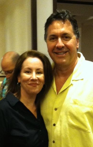 Marie and Steve Alten in Las Vegas