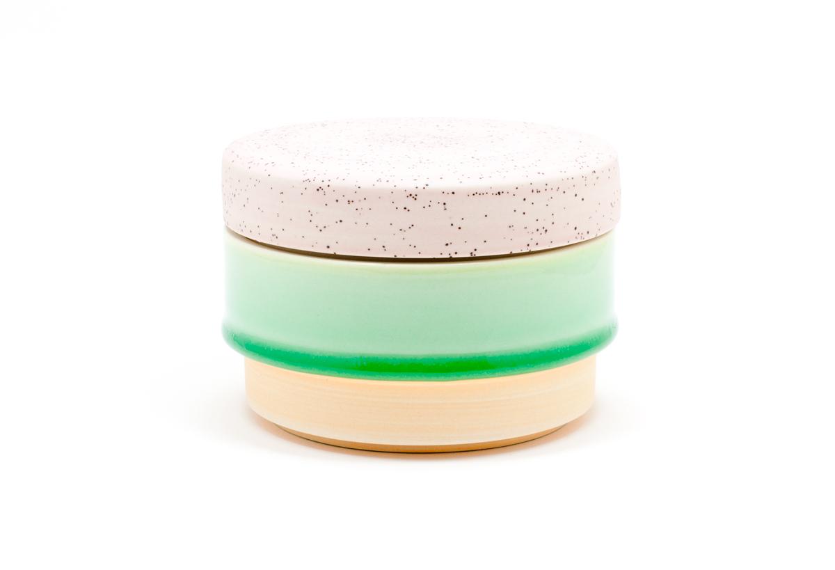 Squat Jar - Green