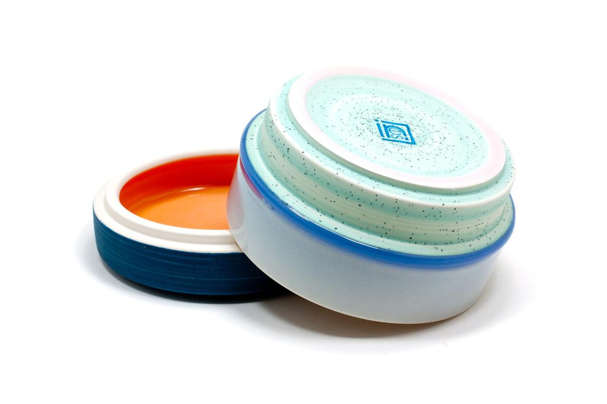 Squat Jar - Blue