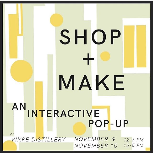 I'm going to be in Duluth this weekend @vikredistillery. So many wonderful makers will be there too!  Check it out if you're in the area. I'll have new, one-of-kind pieces available.