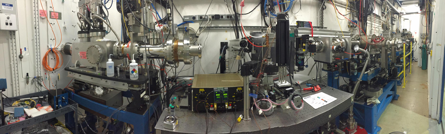 Our playground: sector 2-BM at Argonne National Laboratory's  Advanced Photon Source .