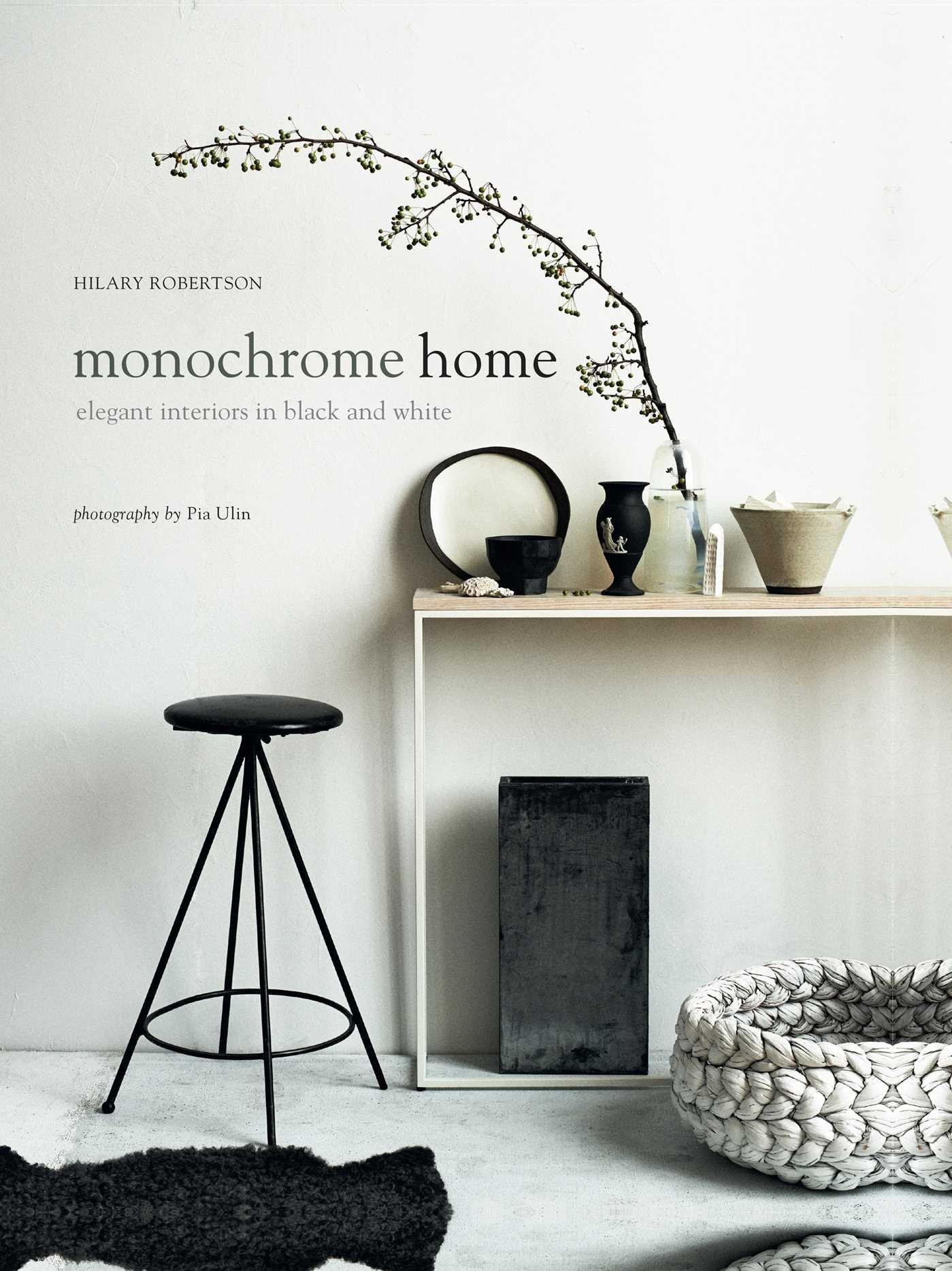 Monochrome Home design book