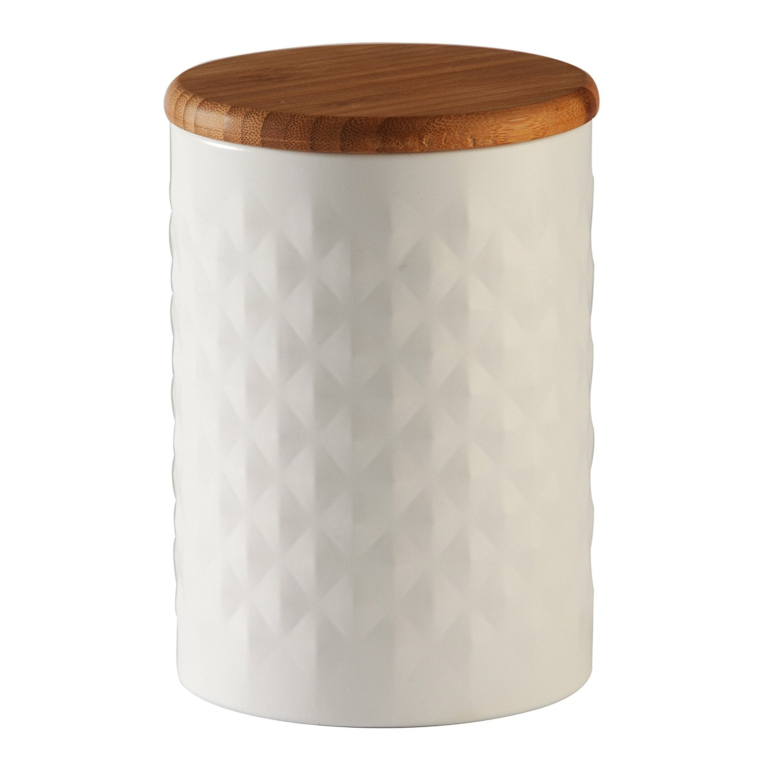 ceramic canister with lid