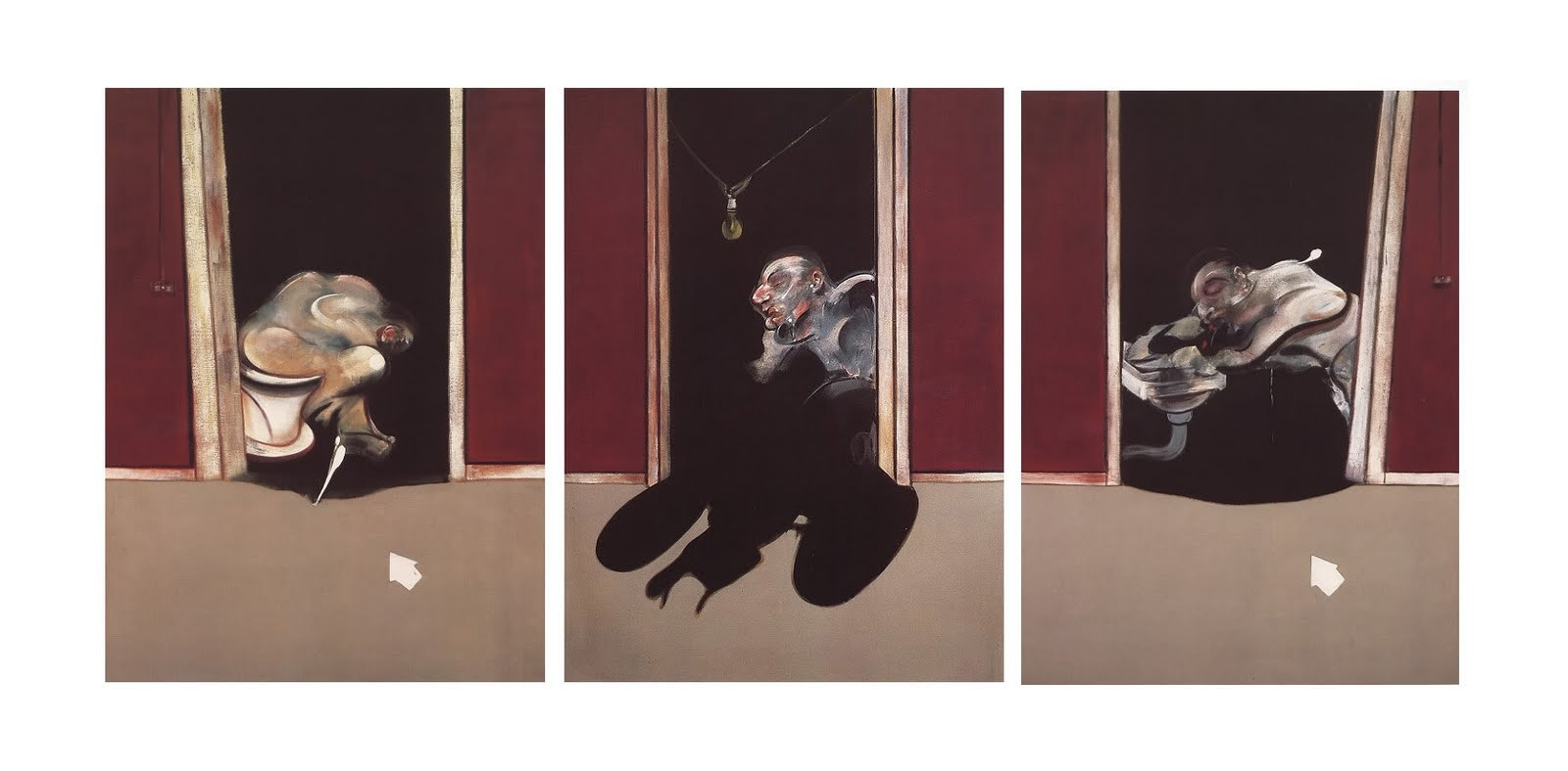 Francis Bacon, Triptych, May-June, 1973